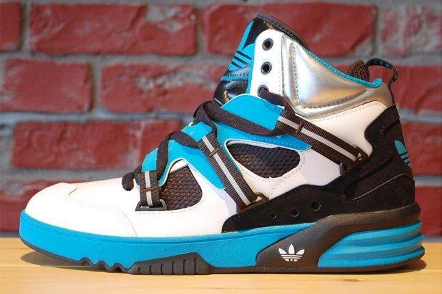 Adidas Roundhouse Distinct Teal Run White 3