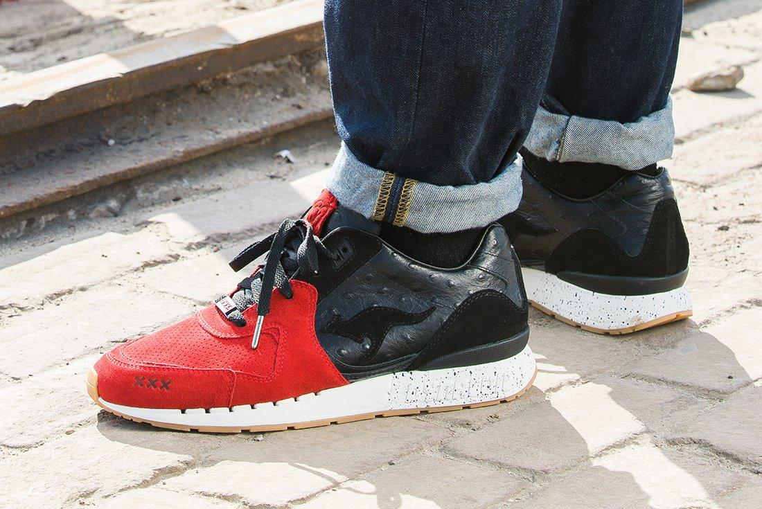 Sneaker Baas X Kanga Roos Coil R 2 Sin City3