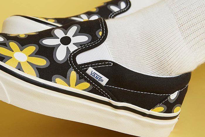Size Vans Floral Slip On 3