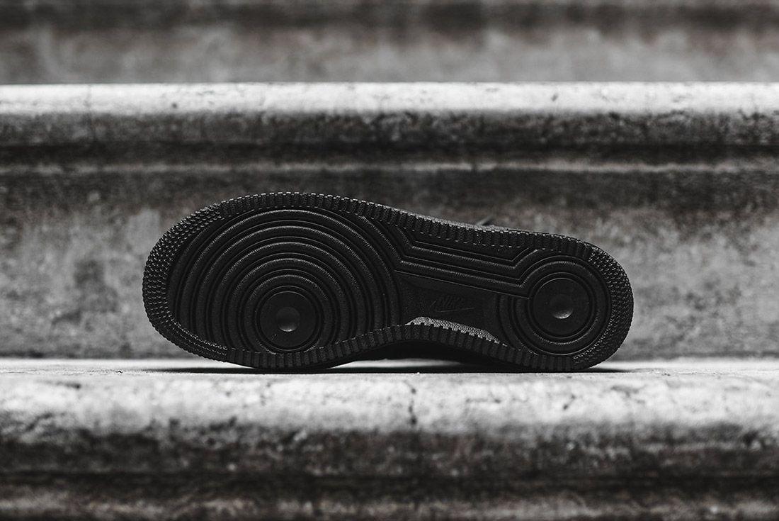 Nike Air Force 1 High Lv8 Black Silver 1