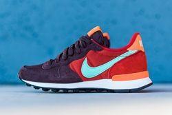 Nike Internationalist Mahogany Greenglow Totalorange Thumb