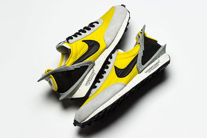 Undercover Nike Daybreak Grey And Yellow Side Shot 1
