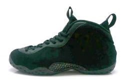 Nike Air Foamposite One Black Suede Thumb