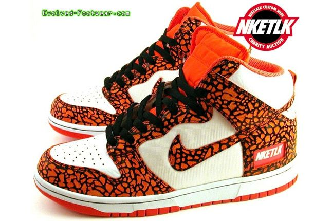Niketalk Charity Custom Nike Dunk Evolved Footwear 1 1