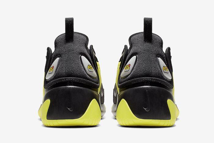 Nike Zoom 2K Dynamic Yellow Black Heels