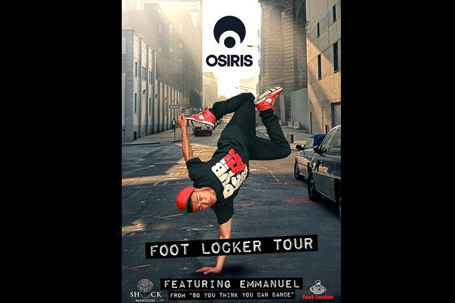 Shock Mansion Foot Locker Osiris 1