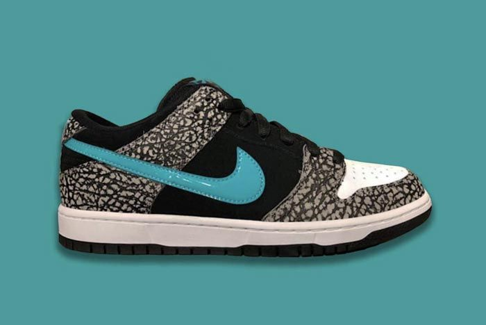 Nike Sb Dunk Elephant Lateral
