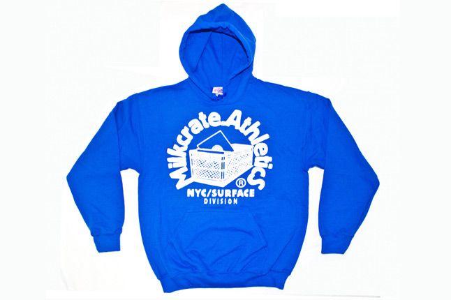 Milkcrate Athletics Logo Blue Hood Fall 2012 1