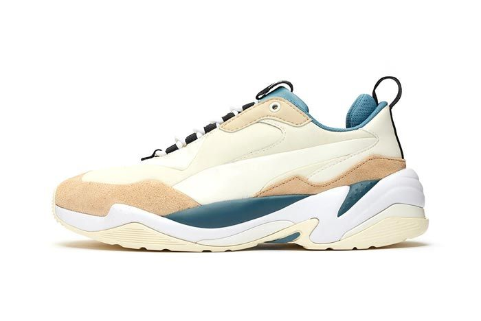 Puma Thunder Nature Pale Khaki Lateral