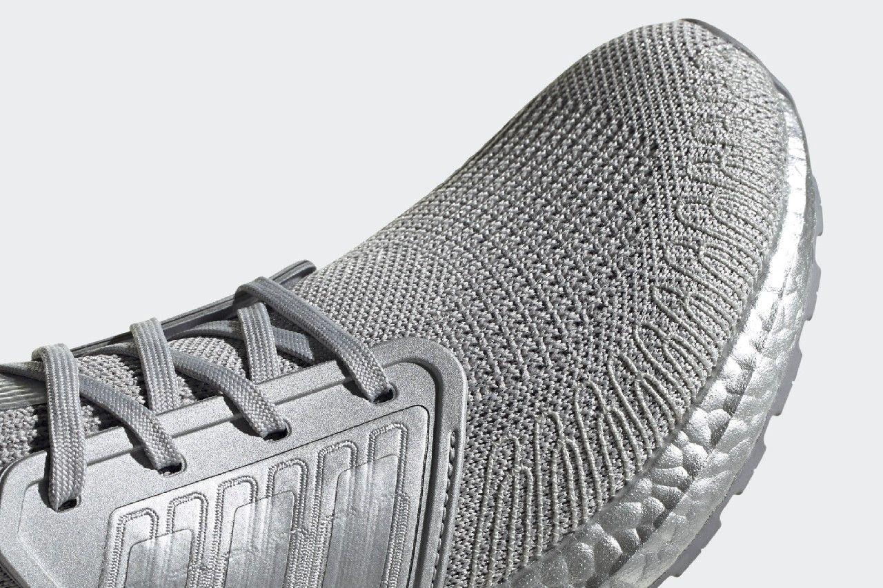 adidas UltraBOOST 20 Silver Metallic Toe