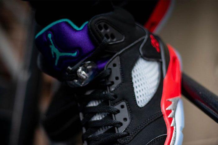 Air Jordan 5 Top 3 Cz1786 001 On Feet Release Date 11 Leak