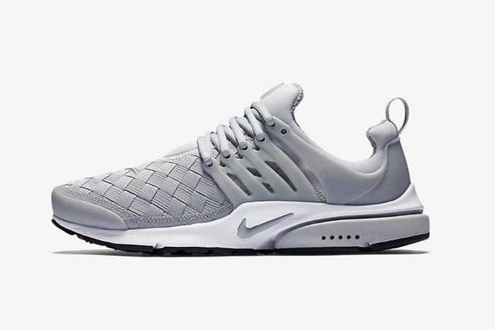 Nike Air Presto Woven Grey 4