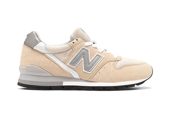 New Balance 996 Tan White Lateral