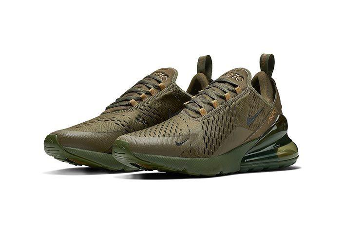 Nike Air Max 270 Triple Olive 3