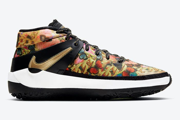 Nike Kd 13 Butterflies And Chains Ci9948 600 Medial