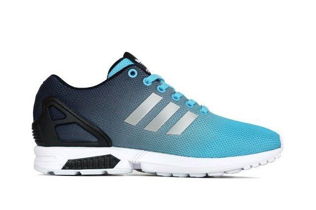 Adidas Originals Zx Flux Fade Light Aqua Black 1