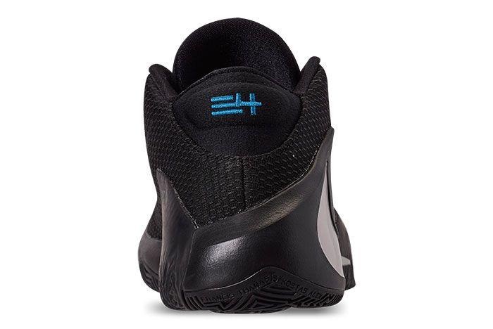 Nike Zoom Freak 1 Black Iridescent Heel