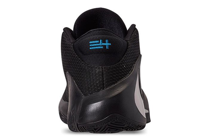 Nike Zoom Freak 1 Black Iridescent Heel