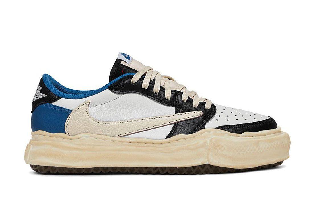 The Shoe Surgeon Air Jordan 1 Low Travis Fragment Mihara Yasuhiro