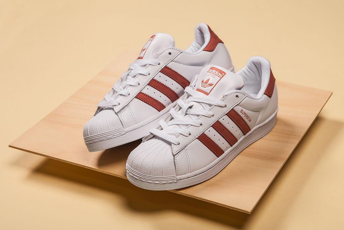 Adidas Superstar Whiteraw Pink 1