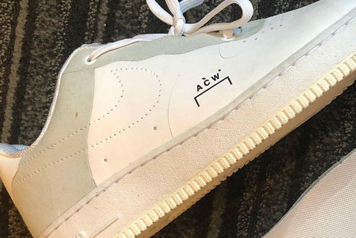 A Cold Wall Nike Air Force 1 Low White Sneaker Freaker