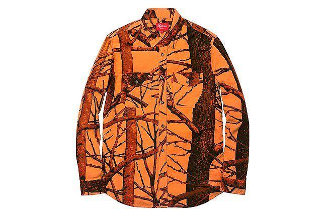 Chamois Shirt Orange 1