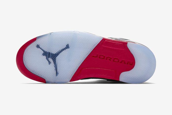 Air Jordan 5 Black Satin Official 5