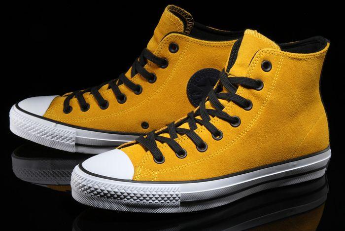 Converse Ctas Pro Suede Hi Mustard2