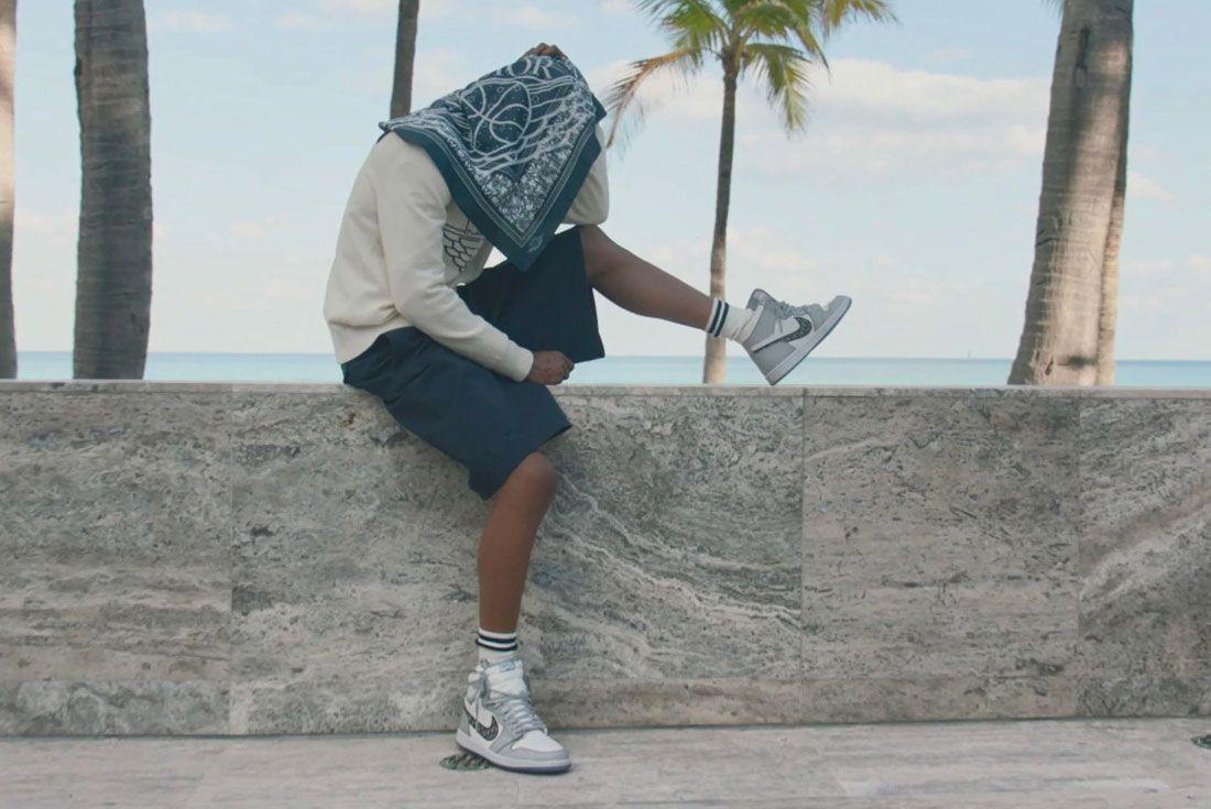 Dior x Air Jordan 1 Travis Scott Beach