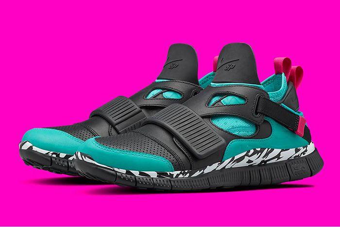 Nike Huarache Carnivore Emerald 2