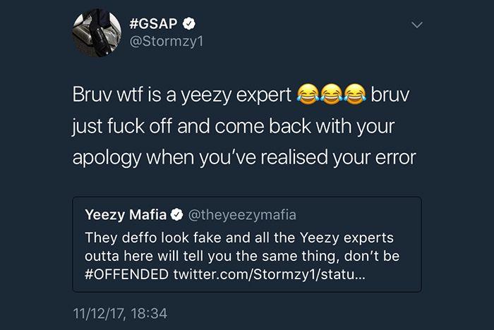 Adidas Stormzy Fakes Yeezy Mafia 2