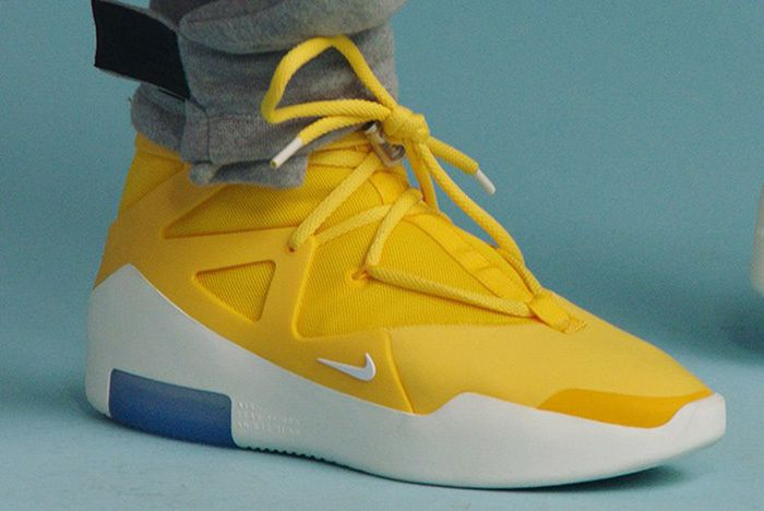 Nike Air Fear Of God Yellow 1