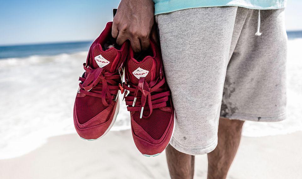 Sneaker Freaker X Puma Blaze Of Glory Bloodbath 6