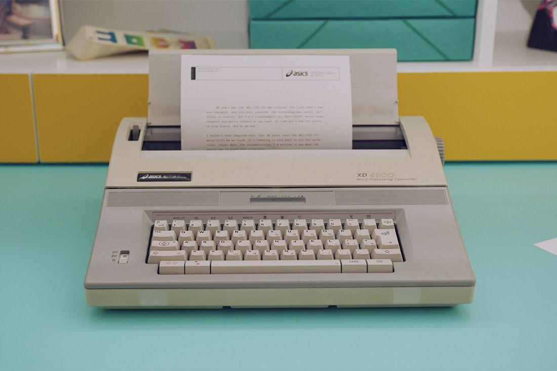 Asics Gel Lyte Iii Shigeyuki Mitsui Design Studio Recreation 10 Typewriter