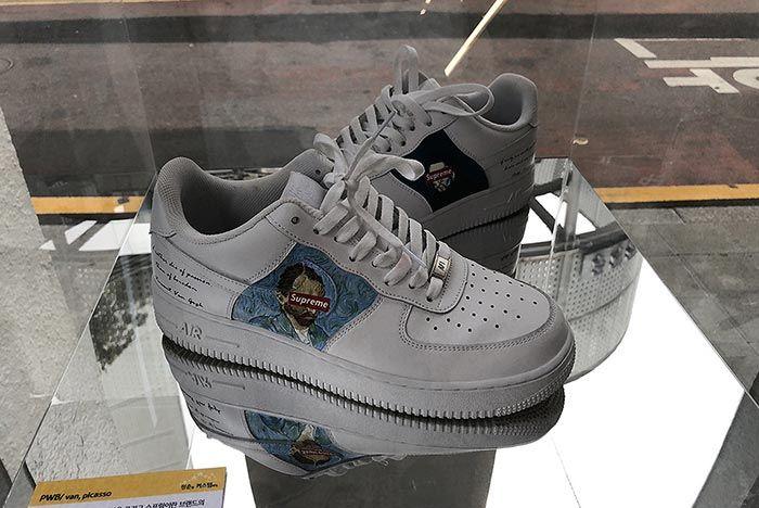 South Korea Puts On Wild Custom Sneaker Exhibition 3