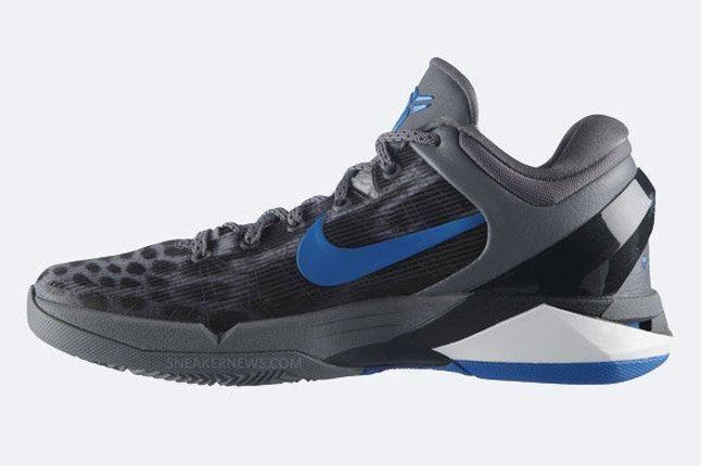 Nike Zoom Kobe Vii Grey Cheetah Sie Profile 1