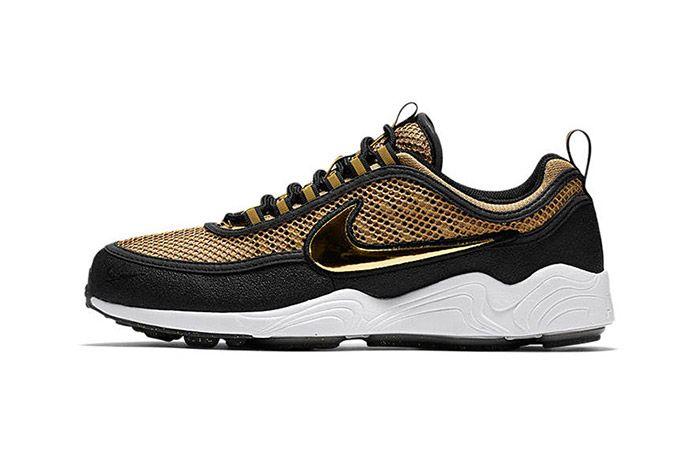 Nike Air Zoom Spiridon Metallic Gold 4