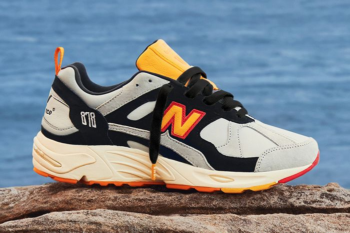 End New Balance 878 Grey Gull Release Date Lateral