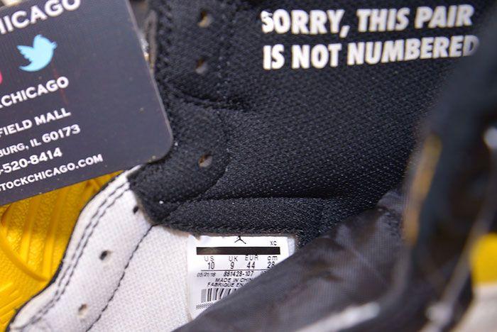 Air Jordan 1 No Ls Varsity Maize 861428 107 6 Sneaker Freaker