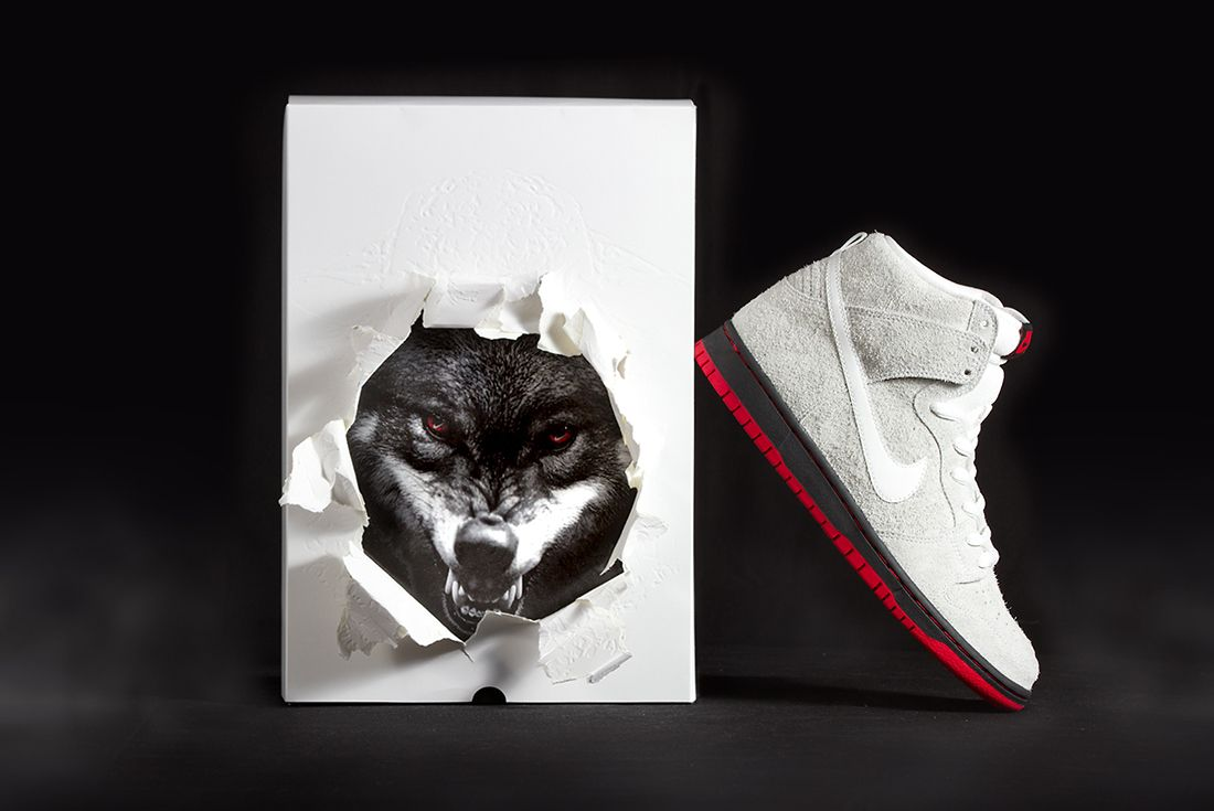 Black Sheep X Nike Sb Dunk High Wolf In Sheeps Clothing9
