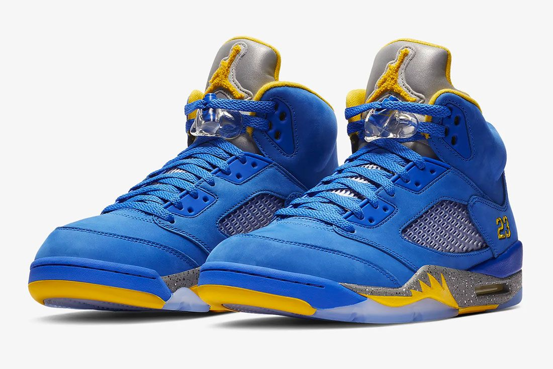Air Jordan 5 Laney Pair Shot