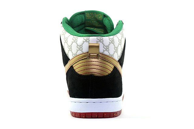 Black Sheep X Nike Sb Dunk High Premium Heel