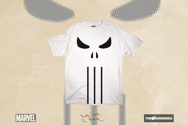 The Hundreds X Punisher Dave Choe Collection 2012 Skull 1