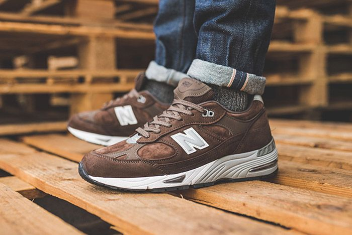 New Balance 991 Brown 1
