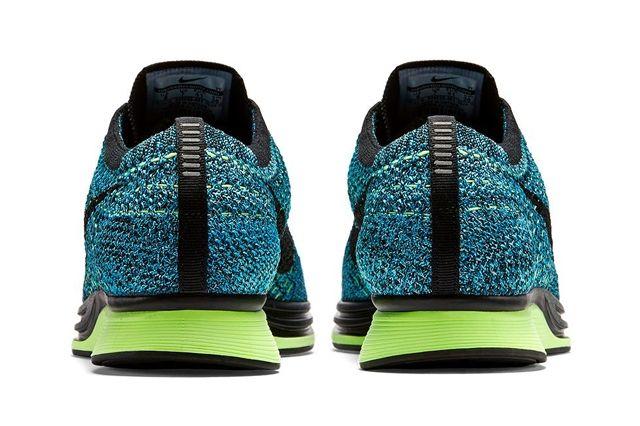 Nike Flyknit Racer Blue Gecko Bumper 4