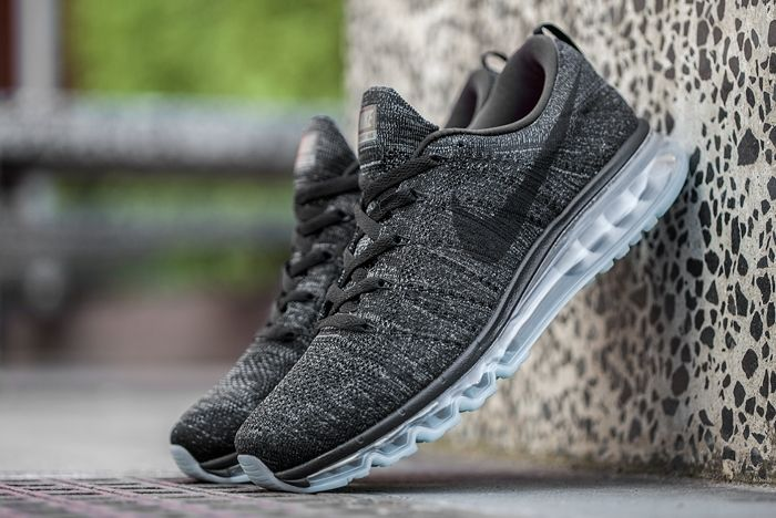 Nike Flyknit Max Black Dark Grey 3