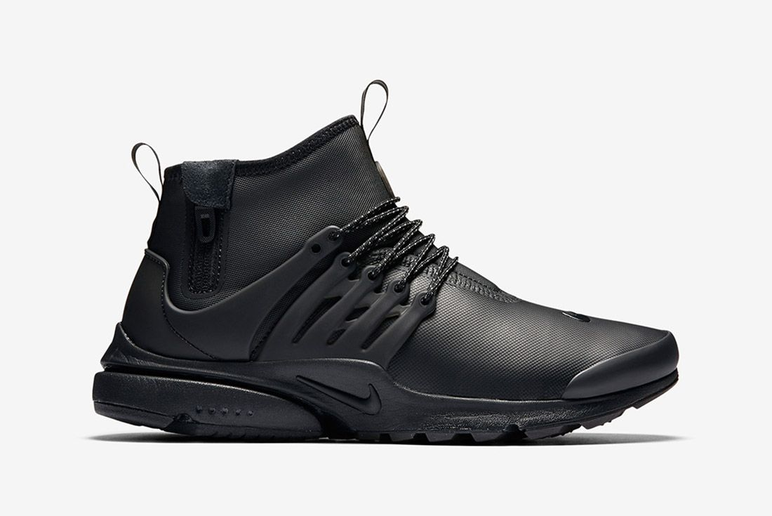 Nike Air Presto Utility Mid Black 4