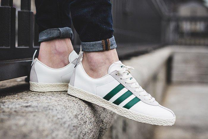 Adidas Trainer Spezial White Green 1