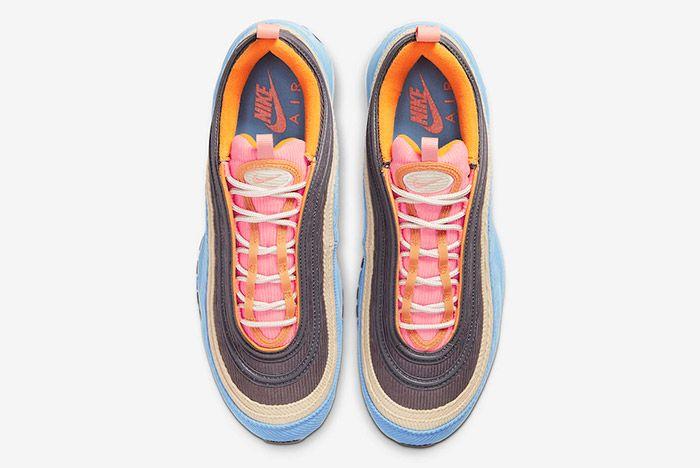 Nike Air Max 97 Corduroy Cq7512 462 Top