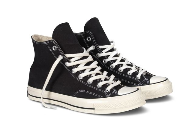 Converse 1970S Chuck Taylor All Star Black Pair 1